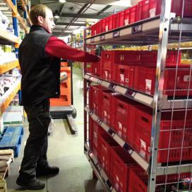 Huuskes verbetert verzamelproces in DKW-magazijn