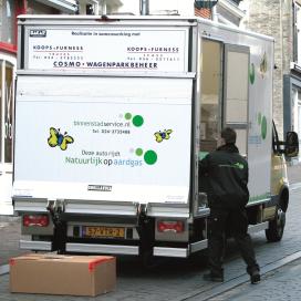 Vijf bedrijven verbeteren stadsdistributie Arnhem-Nijmegen