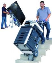 Steekwagen voor trappen