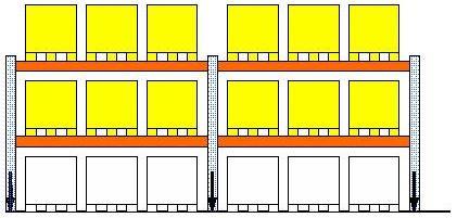 Vloerbelasting in het magazijn 2x3 3x2 for Plattegrond magazijn maken