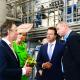 Máxima steelt show bij opening 'groenste' fabriek