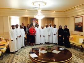 Delegatie uit Oman volgt logistieke opleiding aan NHTV