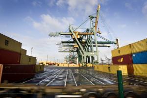 Containervervoer Antwerpen stijgt