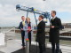 Rotra opent Container Terminal Doesburg officieel