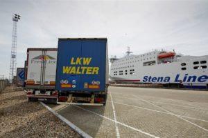 Aandeel goederenvervoer Groot Brittannië daalt