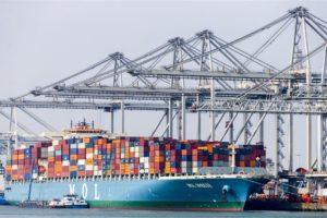 Goederenoverslag Nederlandse havens gedaald