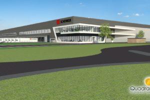 Schenker bouwt nieuw logistiek centrum in Venlo