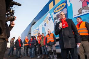 FNV: 'Boete voor Ikea-transporteur Brinkman een lachertje'