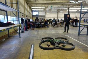 Geslaagd drone-experiment Windesheim-studenten