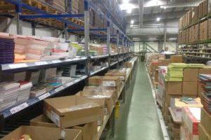 Franse uitgever reorganiseert warehouse met A-sis
