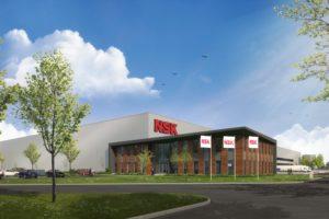 NSK start nieuwbouw Europees dc in Tilburg