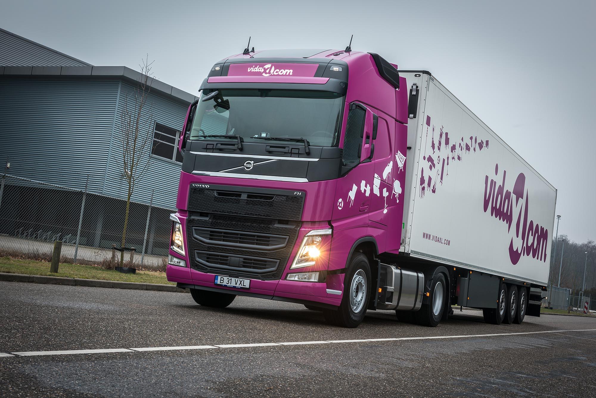 vidaxl start europees netwerk met nieuwe truckvloot logistiek. Black Bedroom Furniture Sets. Home Design Ideas
