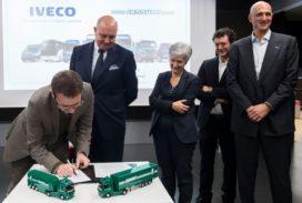 Iveco krijgt megaorder van logistieke dienstverlener Lannuti
