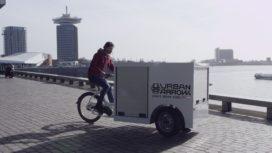 Urban Arrow lanceert elektrische bakfiets op drie wielen