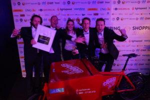 Fietskoeriers.nl wint e-commerce innovatieprijs