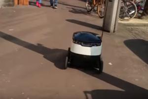 Domino's gaat pizza bezorgen met robot