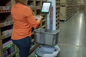 DHL test robots als orderpick hulp
