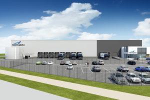 Yusen Logistics bouwt farma warehouse in Nederland