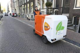 PostNL vervangt 100 autoritten door e-bakfiets