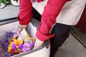 Amerikaanse moeders krijgen bloemen per robot