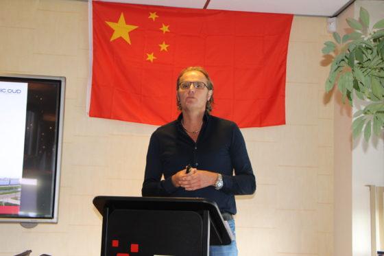 """Patrick Oud (algemeen directeur Nic Oud): """"Het is moeilijk te voorspellen hoe het gaat lopen qua volumes straks. Het is een avontuur maar desalniettemin zien we dit als een enorme mooie kans om ons nu ook te richten op de Chinese markt."""""""