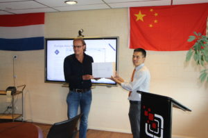 Nic. Oud start crossborder e-commerce avontuur in China
