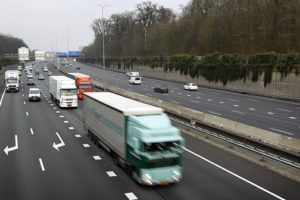 Wegtransport profiteert van opleving internationale handel