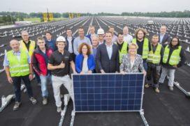 Albert Heijn-dc Pijnacker krijgt 10.000 zonnepanelen