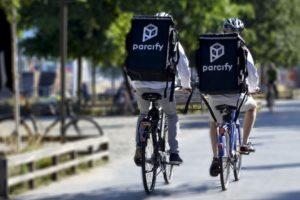 Parcify zet kajaks in op de last mile in Amsterdam