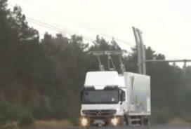 Duitsland krijgt elektrische snelweg voor vrachtwagens