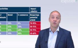 Robots in dc's: Limburg en Noord-Brabant koplopers