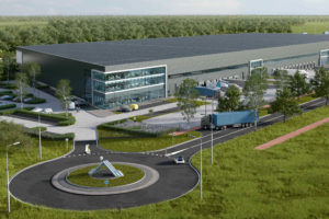 Nieuw cargocenter van AMS op Schiphol