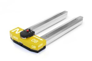 Wifi-signalen sturen AGV-pallettruck 'Nipper' aan