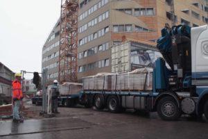 Pakketdienst moet bouwlogistiek efficiënter maken