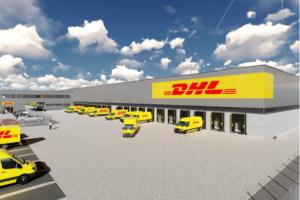 DHL start bouw nieuw sorteercentrum in Amsterdam