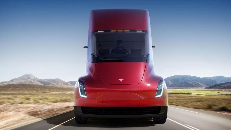 Dit is de Tesla super truck