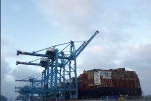 Code Rood: Containerterminals haven Rotterdam dicht