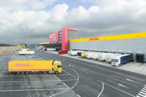 Dit is de nieuwe Brussel hub van DHL