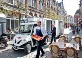 Stadsdistributiecentrum in Haarlem van de baan