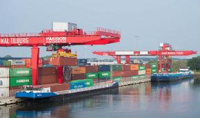 Danser en inlandterminals bundelen containervrachten
